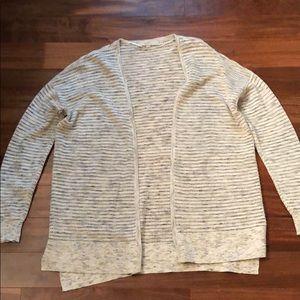 LOFT cardigan size L